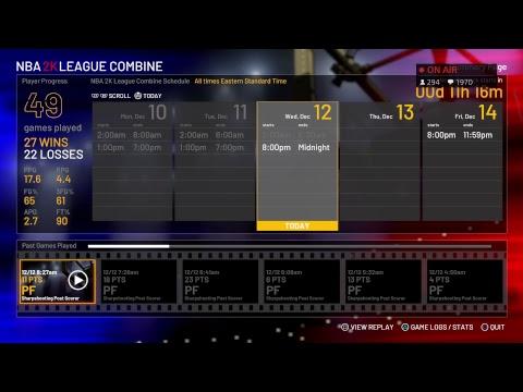 2K League Combine Window  6  |  Top Post Scorer  |  #2KLCombine