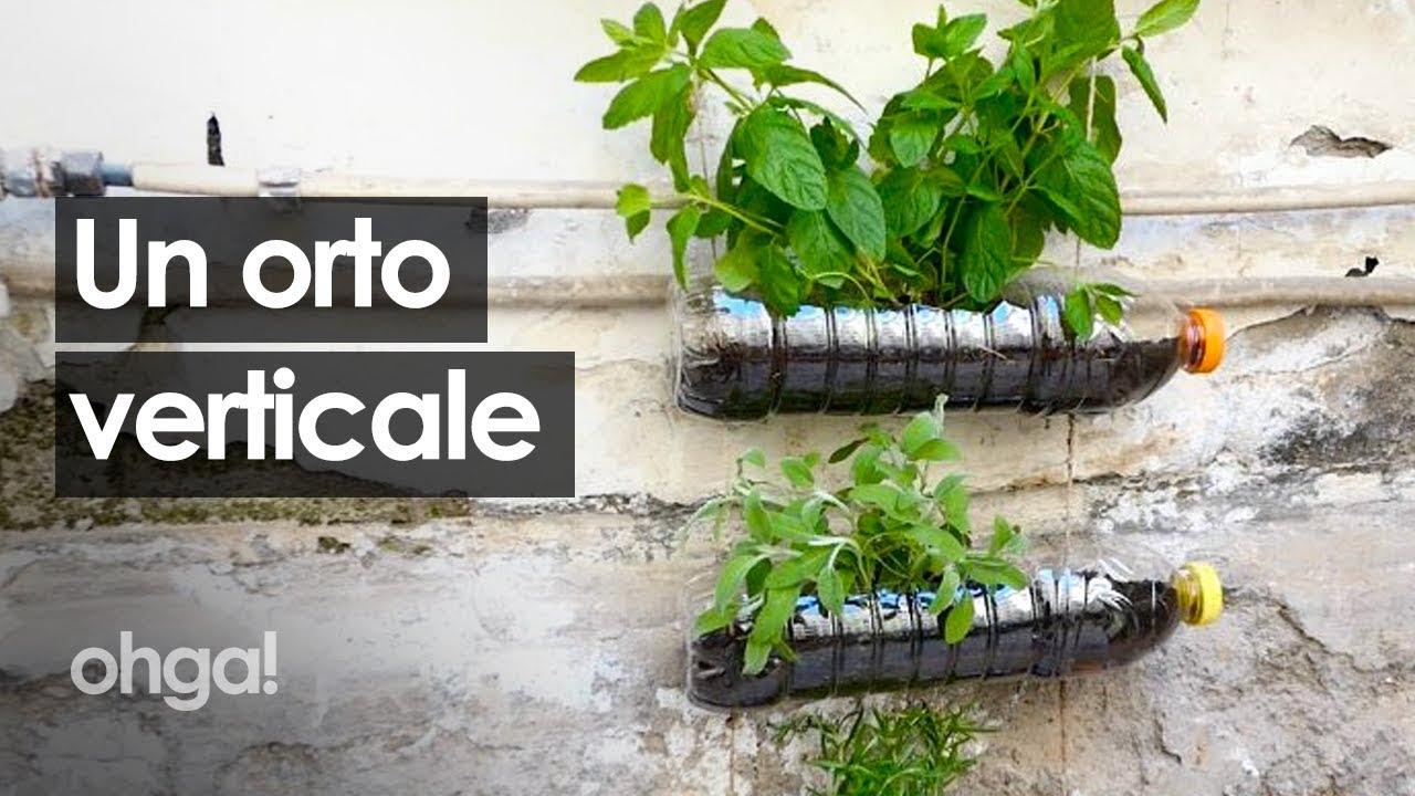 Giardini Verticali Fai Da Te orto verticale: come costruirne uno in casa riciclando bottiglie!