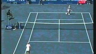 Mary Pierce vs Henrieta Nagyova Canadian Open 2002