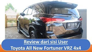 Review - Toyota All New Fortuner VRZ 4x4