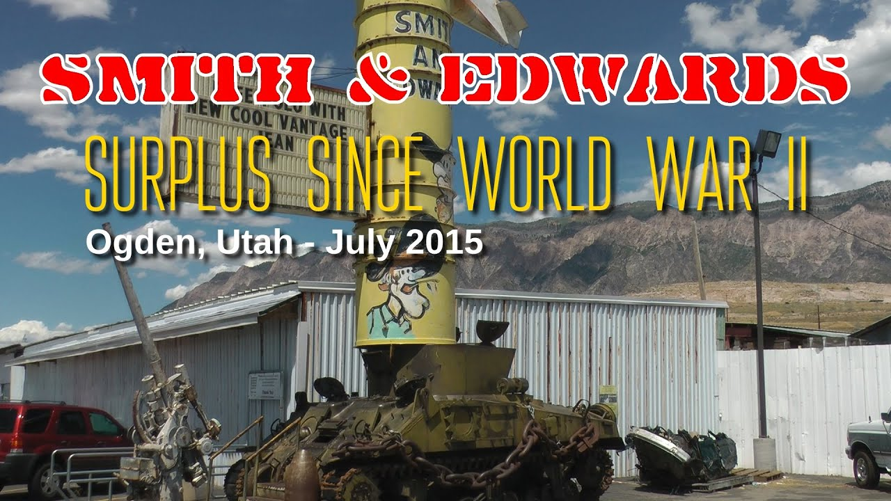 Smith and Edwards Surplus: Airailimages Road Trip