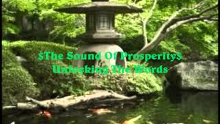 The Sound Of Prosperity Unlocking The Words