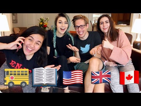 Buses and Weird Reading Programs   British VS American VS Canadian