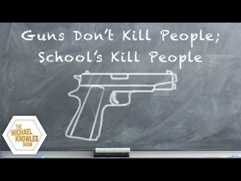 Guns Don't Kill People; Schools Kill People ft. Max Eden | The Michael Knowles Show Ep. 117