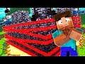 Crazy Minecraft - WORLDS MOST SECURE MINECRAFT FORT! (Turrets, Cameras, Traps)