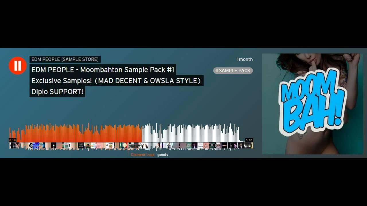 Moombahton Sample Pack #1 Exclusive Samples! (MAD DECENT & OWSLA ...