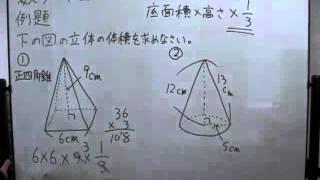 ... の体積の求め方 (3