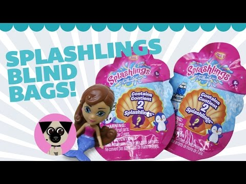 Splashlings Blind Bags! Adorable Surprise Toys!