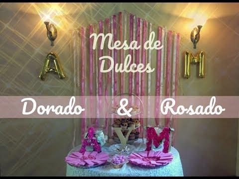 Mesa de Dulces Estilo Vintage | DIY