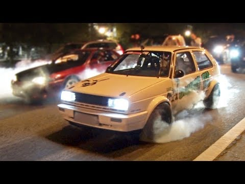 Flame Spitting VW hits the Streets! | 1000+ AWHP!