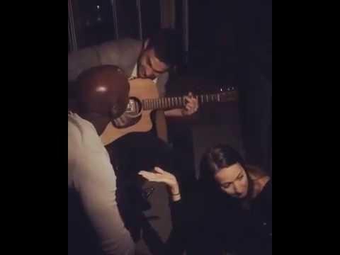 Kristen Gutoskie, Chris Wood, & David Gyasi Singing