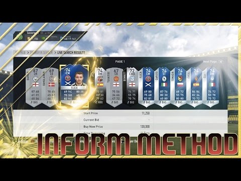FIFA 17 - BEST SILVER INFORM TRADING METHOD !!! - FIFA 17 MAKE COINS FROM SILVER INFORMS