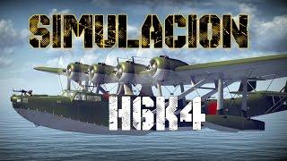 La patera volante | H6K4 | Simulacion