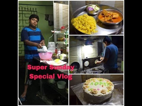 My Super Sunday Routine Vlog with Special Non-veg Lunch and Gas Deep Cleaning - Lots of Fun #153