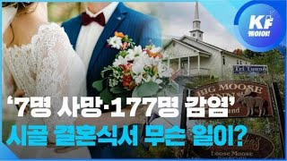 '7명 사망·177명 감염'...그날 시골 결혼식에서 …