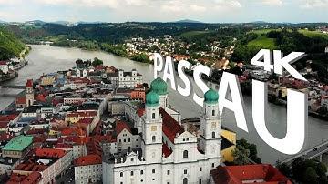 Passau   Bayern   Cinematic 4K / 2018