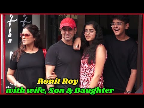 Ronit Roy With His Family - You Have Never Seen