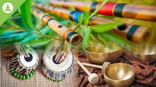 �������� ���� Flute, Tabla and Tibetan Bowl, Pure Positive Vibes, Morning Meditation, Stress Relief ������