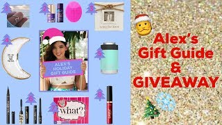 Alex's $25 and under holiday gift guide & GIVEAWAY!   tarte talk