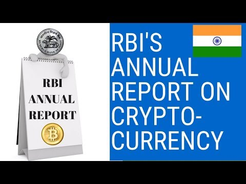 RBI's Annual Report On Bitcoin And CryptoCurrency