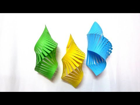 DIY Easy Paper Chandelier Decoration How to Make