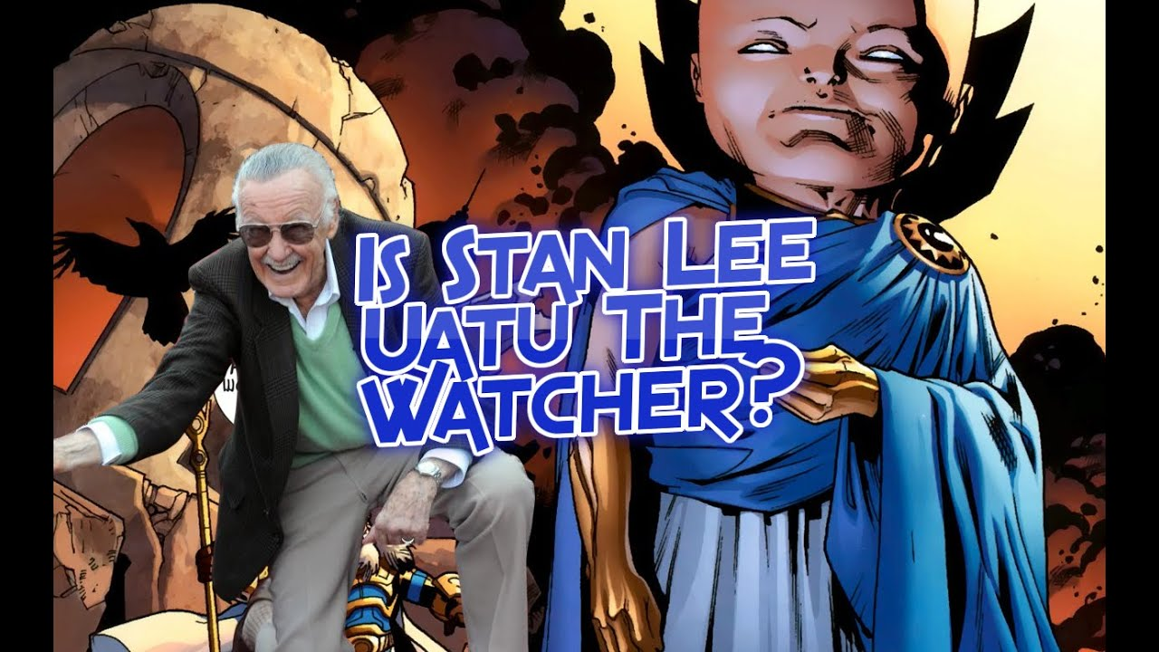 Resultado de imagem para Stan Lee+uatu