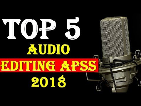 Top 5 Audio Editing Android Apps 2018 Urdu/Hindi