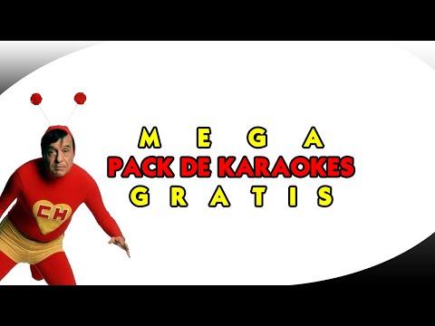 Descargar Mega Pack de 【 3.000 KARAOKES 】Variados en Mp4 Gratis ▷ De la A - Z