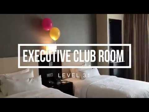 The Westin Kuala Lumpur | Executive Club Room Tour | Wine Travel Fun