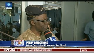 Falana Says Latest Defections Across Political Parties In Nigeria Illegal Pt.1 03/08/18 | News@10 |