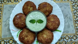 Lahori Kabab With Minty Dip | Chicken Lahori Kabab | Ramzan Special Recipes