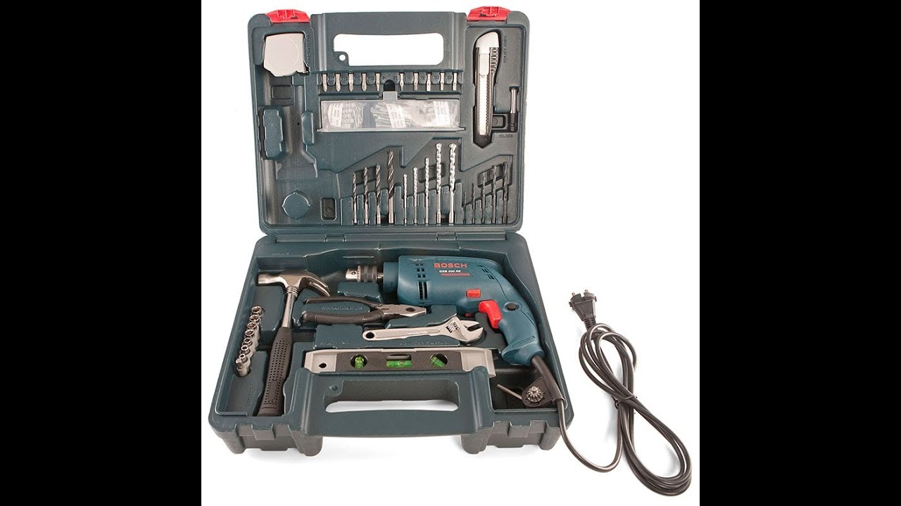 bosch gsb 500 re kit professional power and hand tool kit review rh youtube com bosch scan tool manual bosch tool user manual