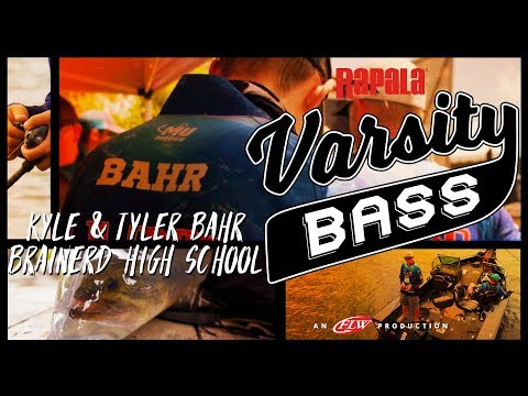Rapala Varsity Bass Episode 5: Kyle & Tyler Bahr // Brainerd High School