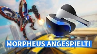 Project Morpheus / PlayStation VR: Funktioniert VR auf der PlayStation 4?