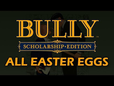 Bully Scholarship Edition All Easter Eggs, Secrets, References and Trivia HD