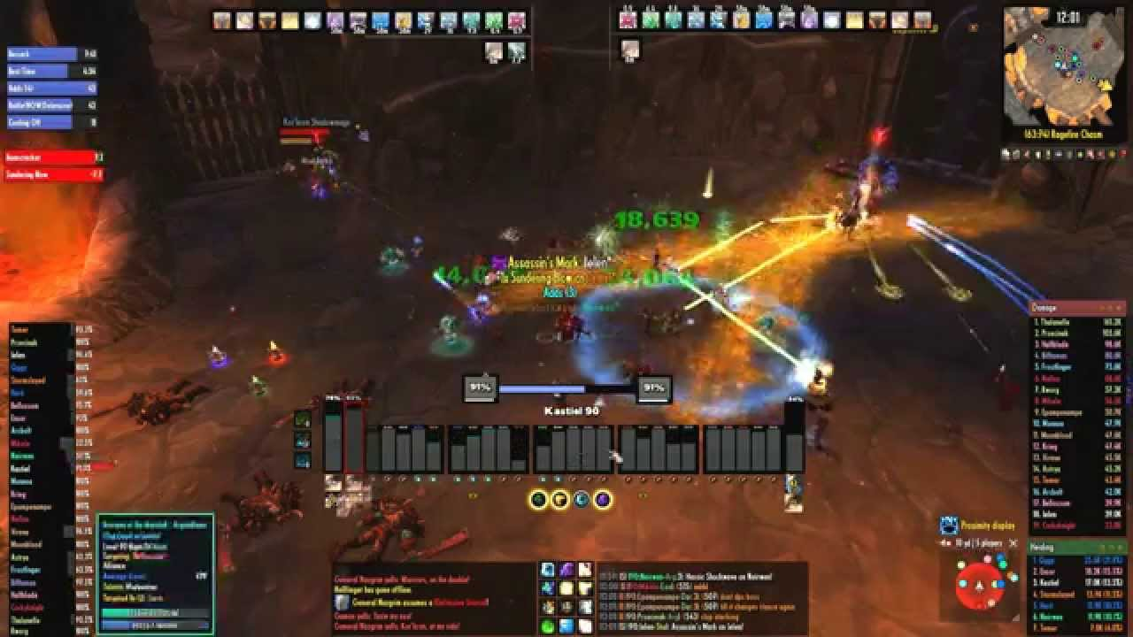Kastiel UI - A World of Warcraft Healing UI by Stuart Nicholls