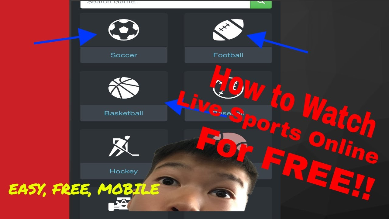 how to watch sports online free