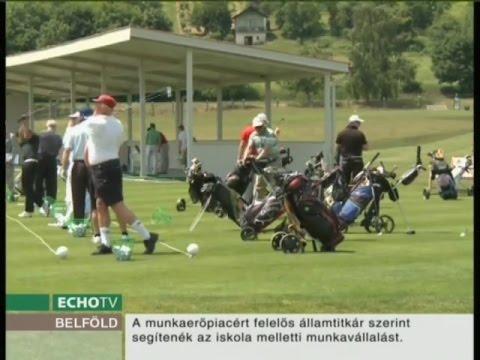 A zalacsányi golfpálya nemzetközi viszonylatban is kiemelkedő