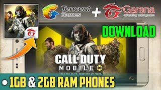 Gambar cover Download Garena Call of Duty Mobile | New Survival Game for 1gb and 2gb ram phones