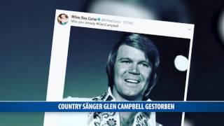 Country-Sänger Glen Campbell gestorben