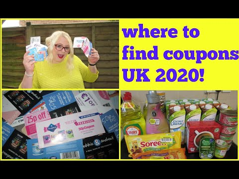 Where To Find Coupons In UK 2020! | Yo Sammy
