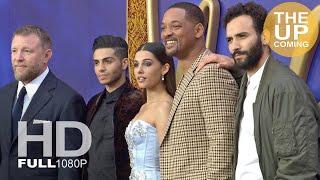 Aladdin Premiere Arrivals & Photocall: Will Smith, Naomi Scott, Mena Massoud, Guy Ritchie In London