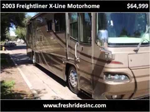 2003 Freightliner X Line Motorhome Used Cars Evans Co Youtube