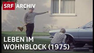 Wohnen in einem modernen Block (1975) | SRF Archiv