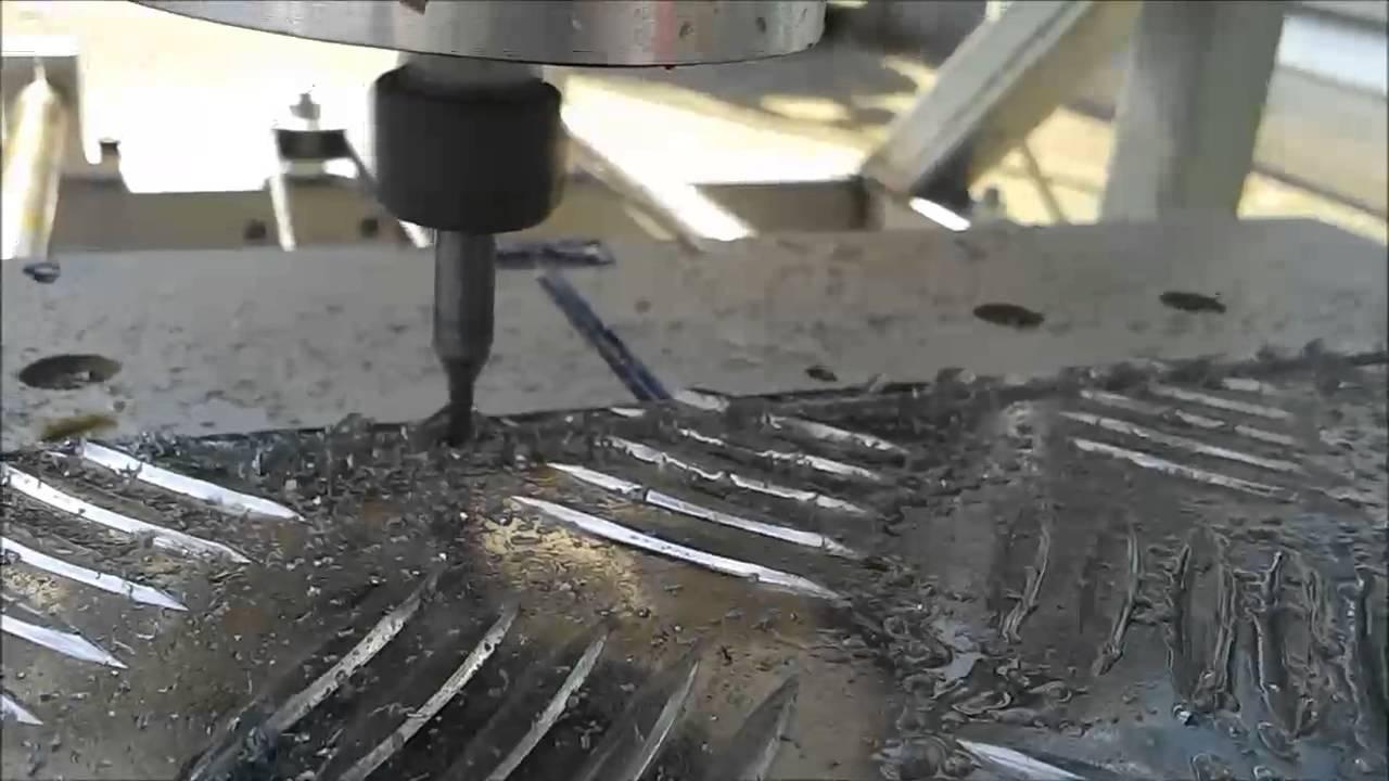 fresando chapa xadrez de aluminio parte 2 youtube