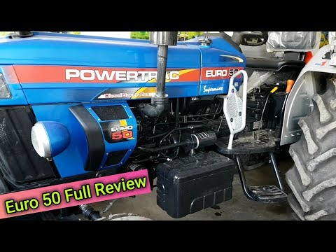 Powertrac Euro 50 Supermax Price And Specification Full Review 2019