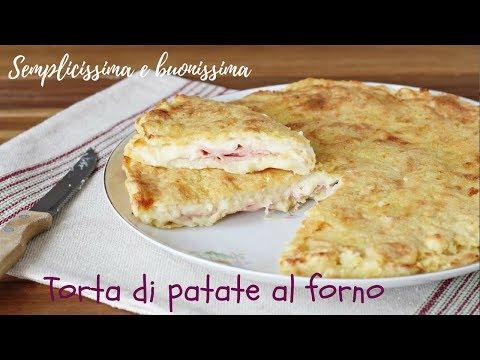 Torta di patate al forno - Semplice, veloce e buonissima