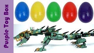 Lego Ninjago Movie Surprise Eggs #1 레고 닌자고 서프라이즈 에그