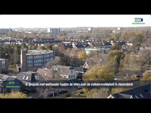In gesprek met Gaatze de Vries over de verkeersveiligheid Heemskerk