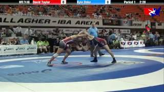 David Taylor vs. Kyle Dake - 2013 U.S. World Team Trials